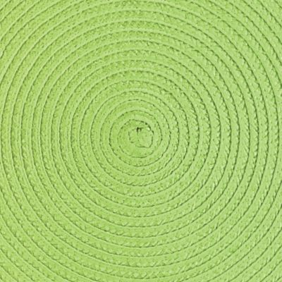 Discount Table Linens: Grass John Ritzenthaler Company Round Woven Placemat Collection