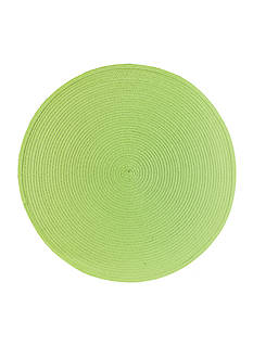 John Ritzenthaler Company Round Woven Placemat Collection