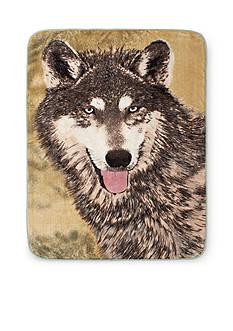Shavel Hi Pile Luxury Oversized Throw Wolf