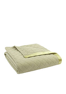 Shavel Micro Flannel Full/Queen Meadow Quilted Blanket
