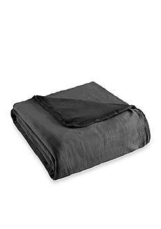Shavel Ultra Velevet Twin Gunmetal Blanket