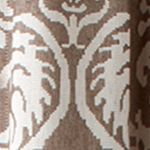 Croscill Curtains: Brown Croscill Bernadette Tailored Window Panel