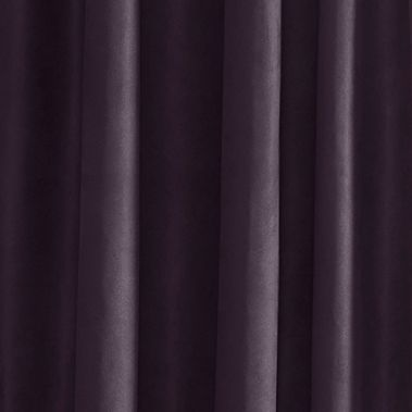 Solid Curtains: Plum Croscill OCALA 84 PNL