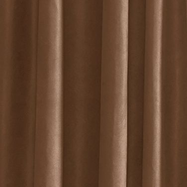 Solid Curtains: Chestnut Croscill OCALA 84 PNL