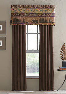Croscill Bear Mountain Valance - Online Only