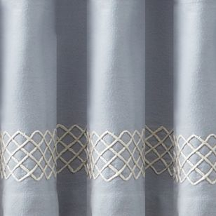 Solid Curtains: Denim Croscill TRAPEZE VALANCE