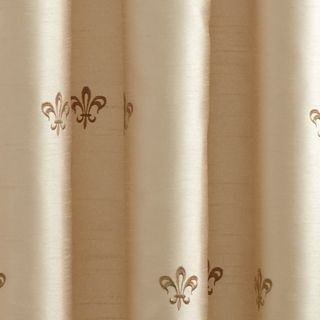 Croscill Curtains: Ivory Croscill BASTILLE LINED TAILORED PANEL