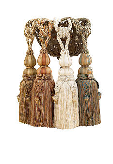 Croscill Dalton Tassel Tie Backs