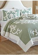 Nostalgia Home Fashions Ailani Quilt Collection