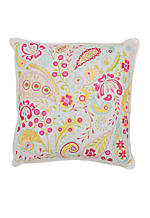 Cloud Paisley Pillow 14-in. x 14-in.
