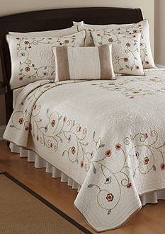 Nostalgia Home Fashions LAKE FOREST QUILT