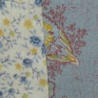 Quilts For Sale: Multi Nostalgia Home Fashions OLIVIA TWIN QLT