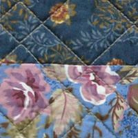 Quilts For Sale: Blue Nostalgia Home Fashions OLIVIA STD SHAM