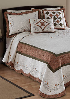 Nostalgia Home Fashions WELLESLEY BEDSPREAD