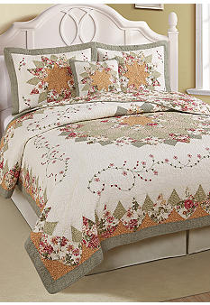 Pem America Coraline Peach Quilt Collection