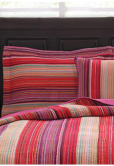 Pem America Flower Petal Stripe Quilt Collection
