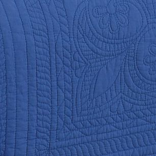 Quilts For Sale: Ceramic Blue American Traditions™ FRENCH TILE QUILT