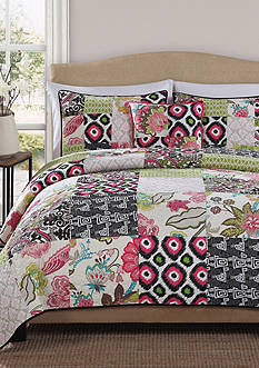 Retro Chic JESSA KING QUILT
