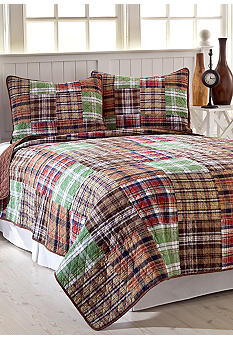 Pem America Mountain Lodge Quilt Set - Online Only