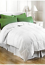 White 300 Thread Count Down Alternative Twin Comforter 68-in. x 95-in.