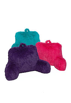 Home Accents Furry Shag Bedrest Pillows