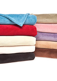 Home Accents® Microplush Solid Throw
