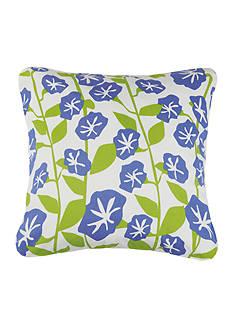 PEKING HANDICRAFT Morning Glory Decorative Pillow