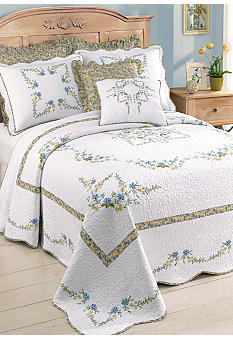 PHI Heather Quilted Bedspread Collection