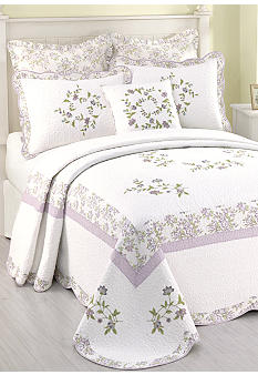 Kristen Quilted Bedspread Collection