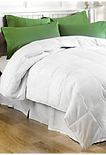 White Twin Down Alternative Comforter 63-in. x 88-in.