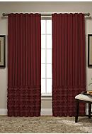Spencer Presley Ruffle Window Treatments - Online Only