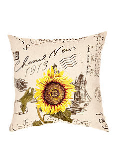 Spencer Sunflower Decorative Pillow