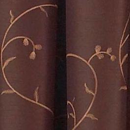 Discount Window Treatments: Espresso Spencer MALLORCA