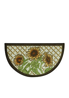 Bacova Classic Berber Sunflower Friends Slice Accent Rug