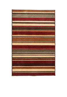 Bacova Earth Stripe Accent Rug