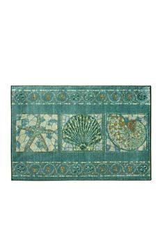 Bacova Seashell Mosaic Accent Rug