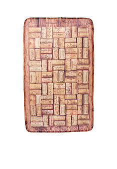 Bacova Vintage Wine Cork Memory Foam Accent Rug