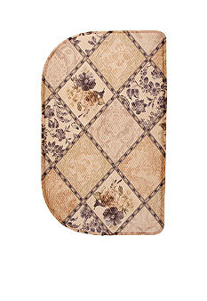 Bacova Mini Check Rebecca Slice Memory Foam Accent Rug