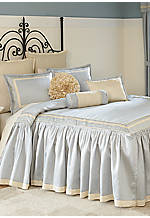 Diana Blue King Bedspread Set 128 in. x 110 in.
