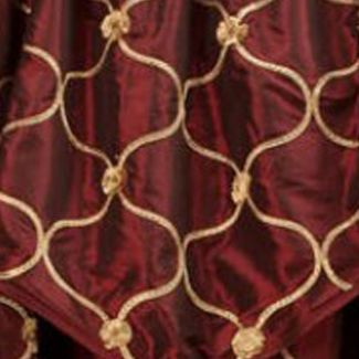 Patterned Curtains: Merlot Home Fashion Int'l ENZO TAUPE