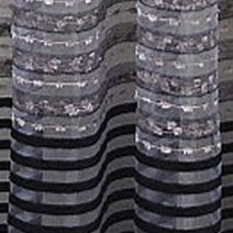 Discount Window Treatments: Black Home Fashion Int'l Sasha Sheer Window Curtain Panel - Online Only