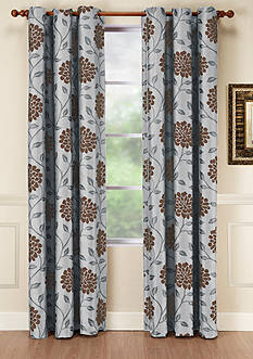 Home Fashion Int'l Dahlia Window Panel - Online Only