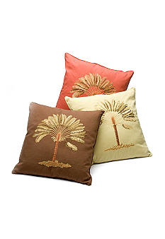 Home Fashion Int'l Fun Island Song Decorative Pillow