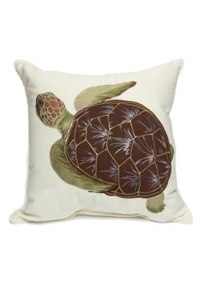 Home Fashion Int l Sea Turtle Decorative Pillow Belk - Everyday Free Shipping