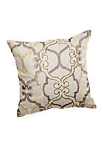 Eternal Elephant Decorative Pillow 18-in. x 18-in.