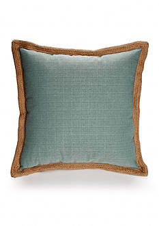 Home Fashions International Jute Trim Decorative Pillows
