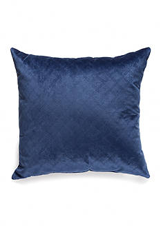 Home Fashions International Quilted Velvet Glow Decorative Pillows