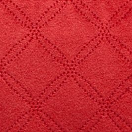 Decorative Pillows: Burgundy Red Home Fashions International Quilted Velvet Glow Decorative Pillows