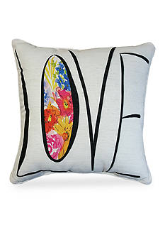 Home Fashions International Edith Love Decorative Pillow