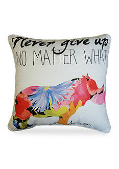Edith™ Edith Rhino Decorative Pillow